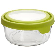 7 Cup Round TrueSeal Glass Storage Container