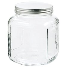 <strong>Anchor Hocking</strong> 1 Gal Clear Glass Cracker Jar