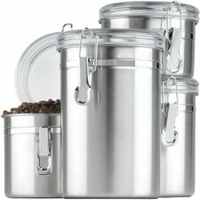 4 Piece Stainless Steel Canister