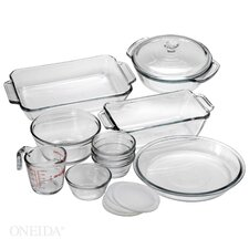 <strong>Anchor Hocking</strong> 15 Piece Bakeware Set