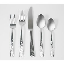 20 Piece Alyssia Flatware Set
