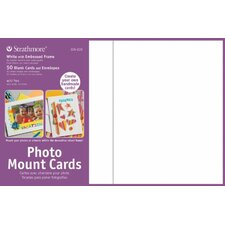 Photo Mount Cards (Set of 50)