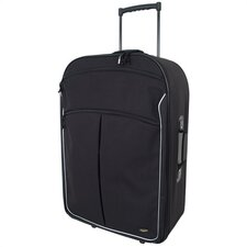 "Coronado Black 30"" Wheeled Upright Suitcase"