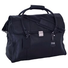 Sondrio Leather Travel Satchel