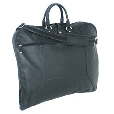 Sondrio Leather Garment Bag