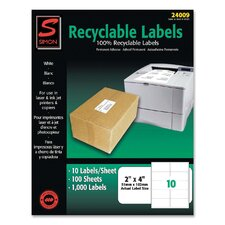 Recyclable Shipping Label (1000 Per Box)