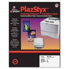 PlazStyx Pressure-Sensitive Laser Labels (700 Pack)