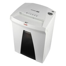 HSM SECURIO B24L6, 7-8 sheets, High Security Level 6, 9 gal. capacity, with Automatic Oiler