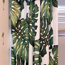 Ohana Cotton Rod Pocket Curtain Single Panel