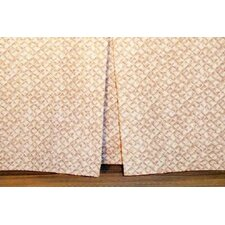 <strong>Hanalei Home</strong> Basketweave Tailored Bed Skirt