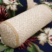 <strong>Hanalei Home</strong> Basketweave Neckroll Pillow