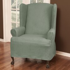 Maggie Wing Chair Slipcover