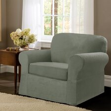2 Piece Maggie Chair Slipcover