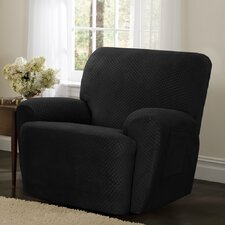 Stretch Dot Recliner Slipcover