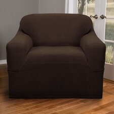 Reeves Stretch One Piece Club Chair Slipcover