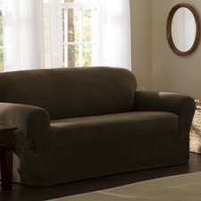 <strong>Maytex</strong> Reeves Stretch One Piece Loveseat Slipcover