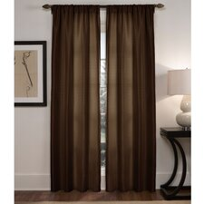 Diamond Waffle Rod Pocket Curtain Panel Pair