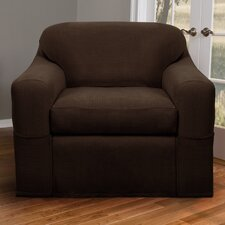 Reeves Stretch Two Piece Club Chair Slipcover