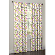 <strong>Maytex</strong> Isabel Rod Pocket Curtain Panel Pair