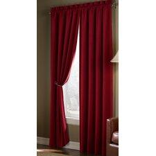 Velvet Cotton Rod Pocket Curtain Panel