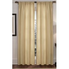 <strong>Maytex</strong> Diamond Waffle Rod Pocket Curtain Panel Pair