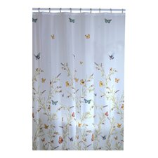 <strong>Maytex</strong> Garden Flight Vinyl Shower Curtain