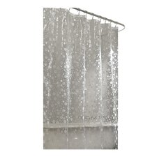 Ice Circles Vinyl Shower Curtain