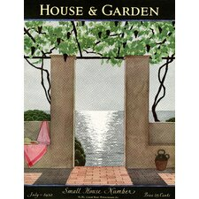 Condé Nast H & G Patio Scene Beach Towel