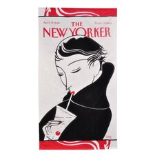 Conde Nast Drinking Girl Beach Towel