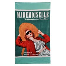 Conde Nast Madame Straw Hat Beach Towel