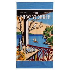 <strong>Home Source International</strong> Conde Nast New York Sailboat Beach Towel