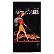 <strong>Home Source International</strong> Conde Nast Leopard Lady Beach Towel