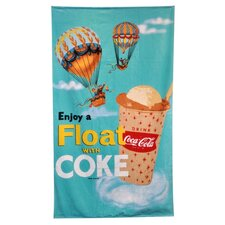 <strong>Home Source International</strong> Coke Float Beach Towel
