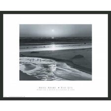 'Birds on a Beach' by Ansel Adams Framed Photographic Print