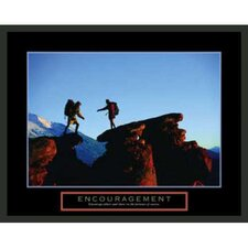 Motivational Encouragement Framed Photographic Print