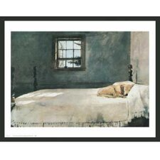 'Master Bedroom' by Andrew Wyeth Framed Painting Print