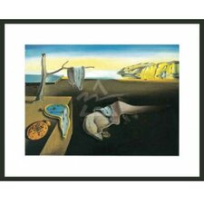 'The Persistence of Memory' by Salvador Dali Framed Painting Print
