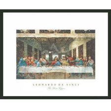 The Last Supper Framed Painting Print