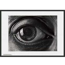 'Eye' by Escher Framed Graphic Art