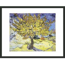 'Mullberry Tree' by Van Gogh Framed Painting Print