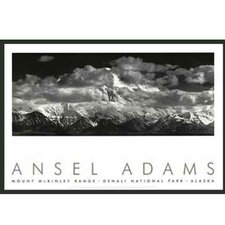 'Range Clouds' by Ansel Adams Framed Photographic Print