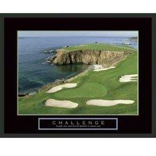 Motivational Challenge Framed Photographic Print