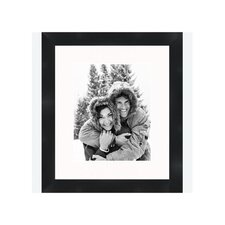 "8"" x 10"" Traditional Flat Frame in Black"