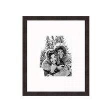 """16"""" x 20"""" Traditional Thin Frame in Antique Mahogany"""