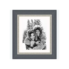 "8"" x 10"" Traditional Frame in Black with Silver Lip"