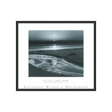 "Birds on a Beach Framed Print by Ansel Adams - 25"" x 29"""