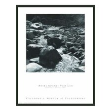 'Mountain Stream' by Ansel Adams Framed Photographic Print