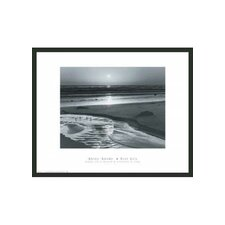 "Birds on a Beach Framed Print by Ansel Adams - 16"" x 20"""