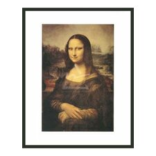 Mona Lisa by Da Vinci Framed Painting Print