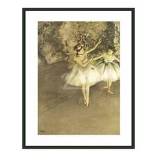 Ballet Dancers by Degas Framed Painting Print